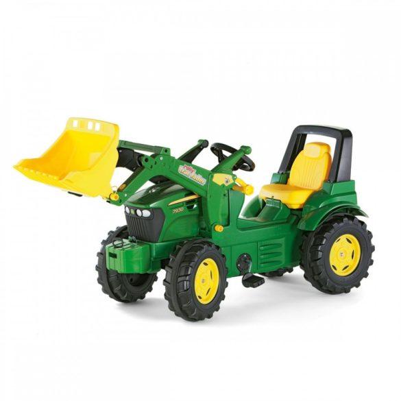 John Deere pedálos markolós traktor