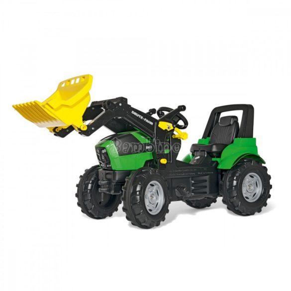 Rolly FarmTrac Deutz-Fahr Agrotron 7250 TTV játék pedálos markolós traktor