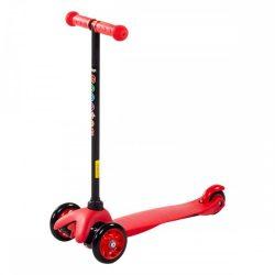 Háromkerekű roller - piros