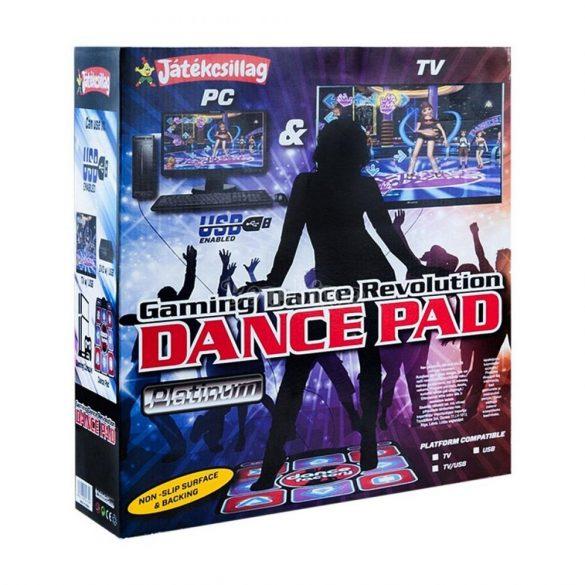 Dance Revolution táncszőnyeg