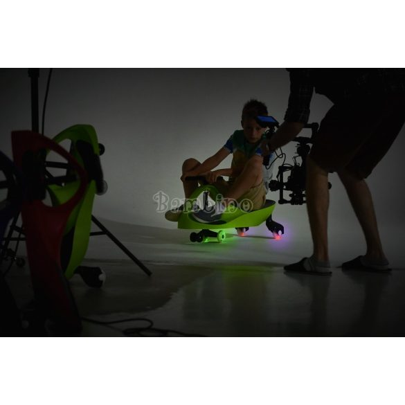 Bobo Car világító, gumi kerekekkel