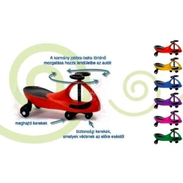 Bobo Car világító, gumi kerekekkel, kék